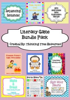 Literacy Game Bundle Pack
