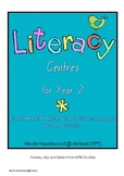 Literacy Centres for Year 1 and 2