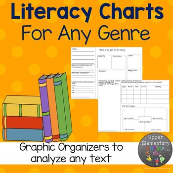 Literacy Charts for any genre
