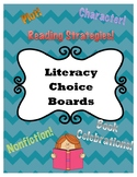 Literacy Choice Board Bundle!