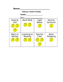 Literacy Choice Tracker