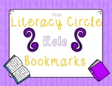 Literacy Circle Role Bookmarks