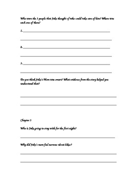 Literacy Circle Study guide for a Christmas novel