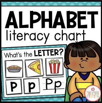 MORNING MEETING LITERACY CIRCLE TIME CHART (ALPHABET)