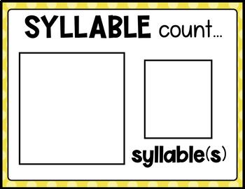 LITERACY CIRCLE TIME CHART (FREE SAMPLE PACK)