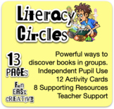 Literacy Circles Cards for Reading - books