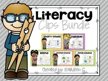 Literacy Clip Bundle