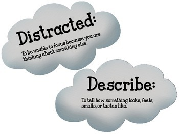 Literacy Clouds {Part 1}