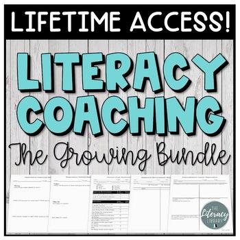 Literacy Coaching Growing Bundle