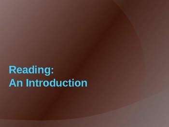 Literacy Collaborative 1st 20 Days of Reading Powerpoint-Reader's Workshop