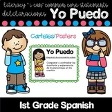"Literacy Common Core ""I Can"" Statements in Spanish"