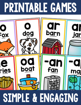 Literacy Concepts Mini Posters or Flashcards Bundle