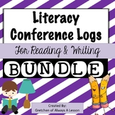 Literacy Conferencing Forms BUNDLE