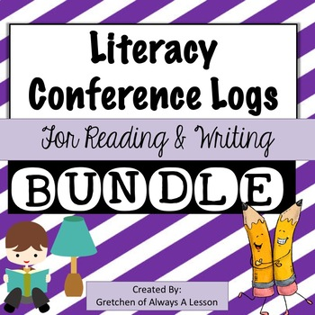 Literacy Conferencing Forms Bundle