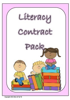 Literacy Contract Pack Grade 1