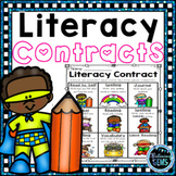 Literacy Menus | Literacy Contracts | Literacy Choice Activity Boards
