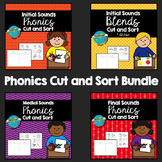 Phonics Cut and Sort Bundle - btsdownunder
