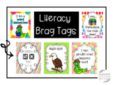 Literacy-Daily 5- CAFE Strategy Brag Tags