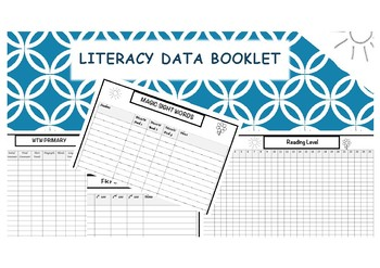 Literacy Data Booklet - Daily 5 - Reading - Sight words