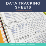 Literacy Data Tracking Sheets