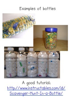 Literacy Discovery Bottle