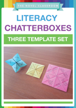 Literacy Early Finisher Activity Chatterboxes