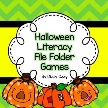Literacy File Folder Games