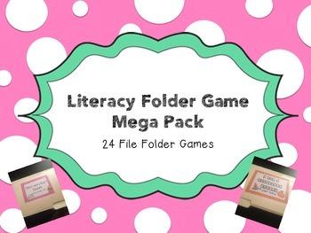Literacy File Folder Mega Pack