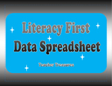 Literacy First Data Spreadsheet