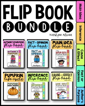 Literacy, Math and Science Flip Books - Endless BUNDLE