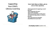 Literacy Flipbook for Parents