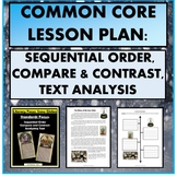Reading Lesson: Sequential Order, Compare & Contrast, Text