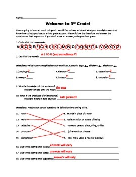 Literacy Foundations Pretest
