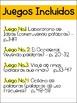 Literacy Game BUNDLE 2 in Spanish