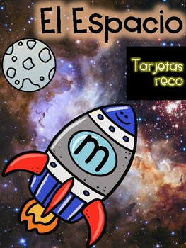 Literacy Game in Spanish- Space Theme