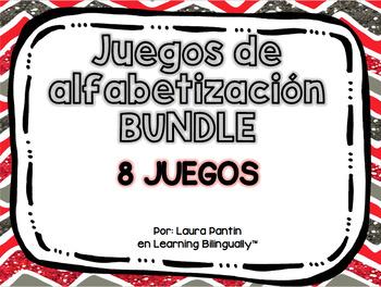 Literacy Games BUNDLE in Spanish