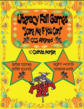 Literacy Games - Fall Edition. CCS Aligned