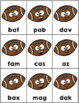 Nonsense Words Letters Games Football
