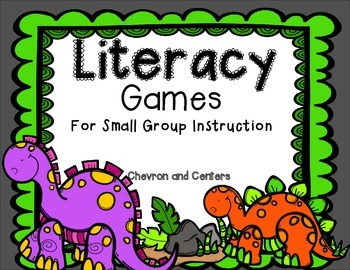 Literacy Games-For small group instruction