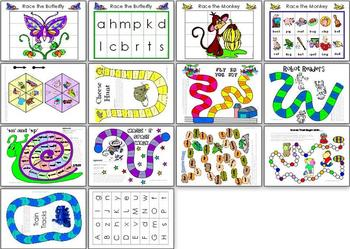 Literacy Games Pack (Yrs 1-3)