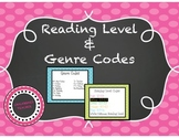 Literacy Genres and Reading Level Codes