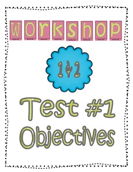 Literacy Goals and Objective Posters for the Read 180 Classroom {Ink-Savers}