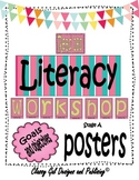 Literacy Goals and Objective Posters for the Read 180 Classroom {Pink}