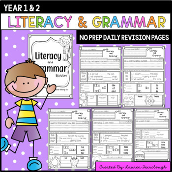 Literacy, Grammar and Sight Word Daily Practise