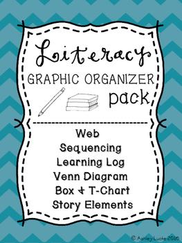 Literacy Graphic Organizer Pack