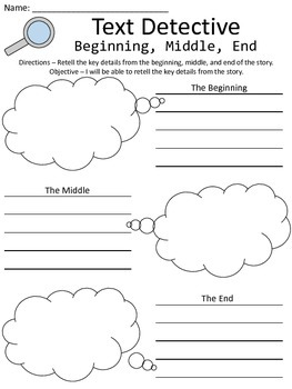 Literacy Graphic Organizers