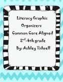 Literacy Graphic Organizers Bundle Common Core Aligned