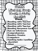 Literacy Group Activity Checklist