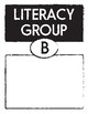 Literacy Groups and Stations / Centers