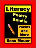 Literacy Growing Bundle Poems Reading Passages Comprehensi